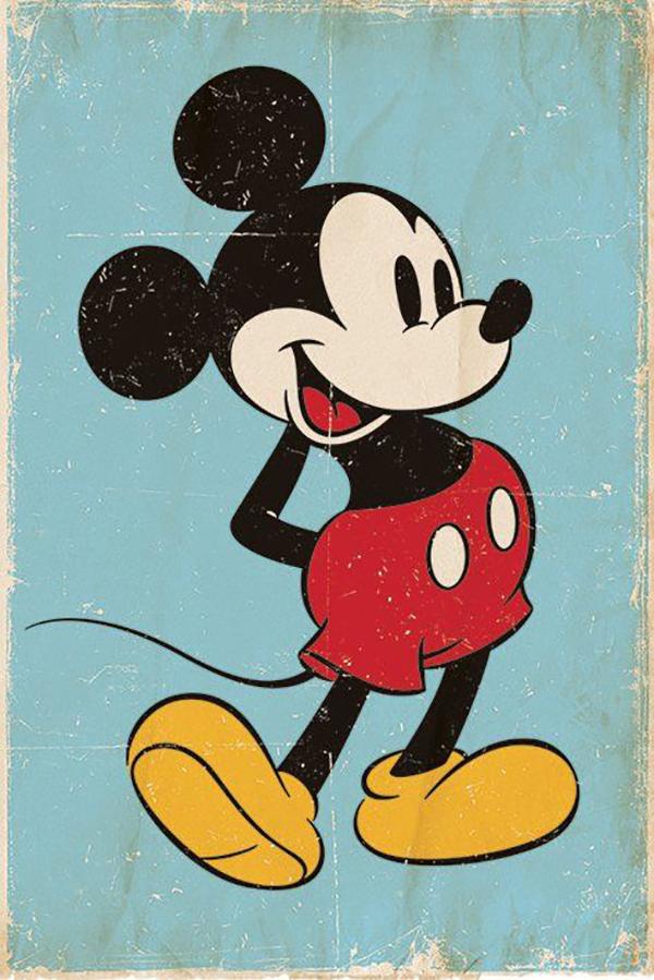 有一天,当沃尔特辛苦伏案画画的时候,有一只小老鼠瑟瑟缩缩地爬到桌