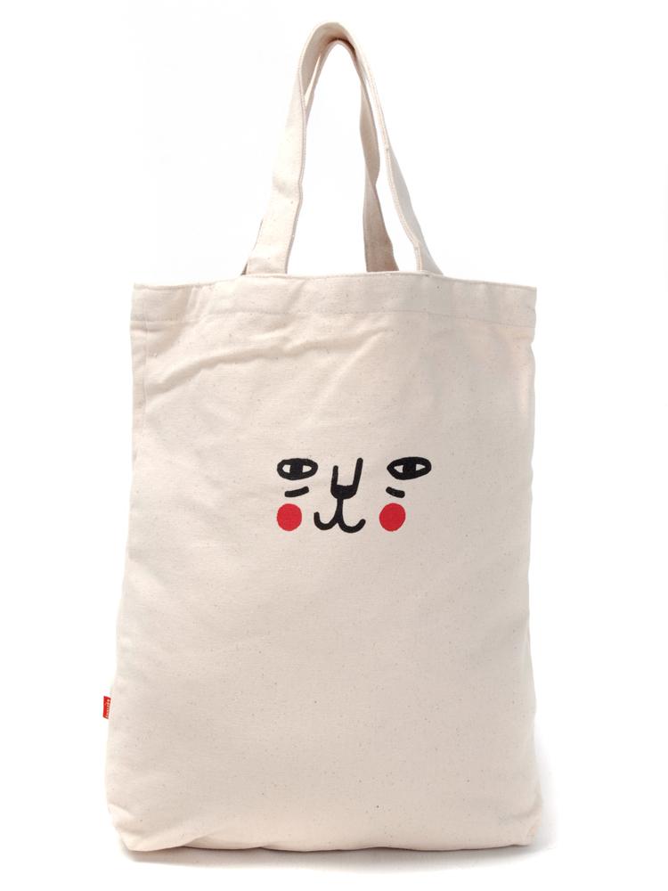 韩版女士包包_yoho有货 KRAVITZ手绘帆布袋(猫) 白 报价/价格查询 - 智购网网购大全