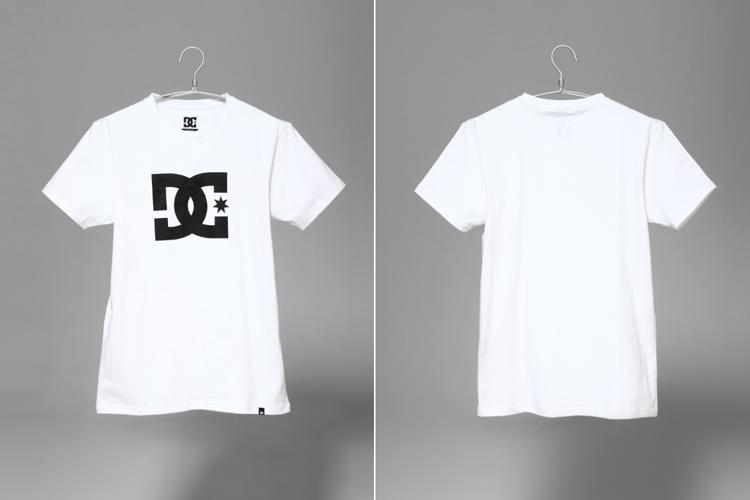 dc 纯棉logo印花t恤图片