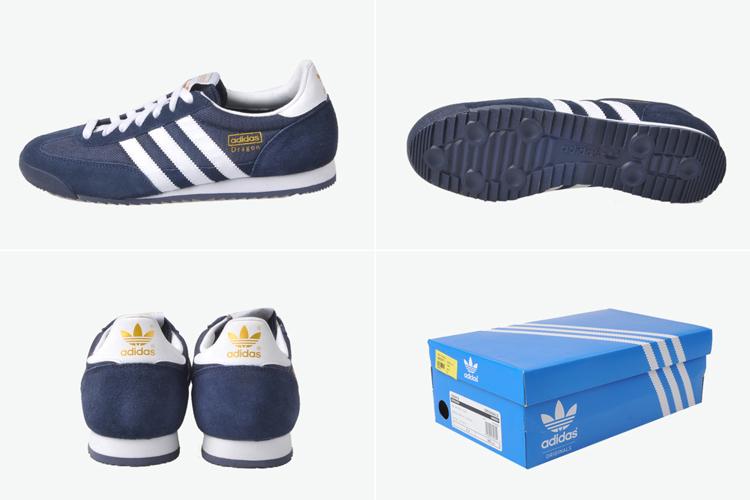 阿迪达斯三折页效果图-adidas Originals 休闲 运动鞋 adidas Originals DRAGON 男子复古休闲