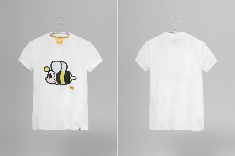 pancoat 可爱蜜蜂短袖t恤