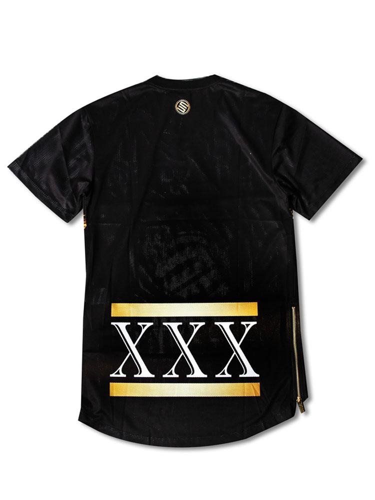金色狮子短袖t恤