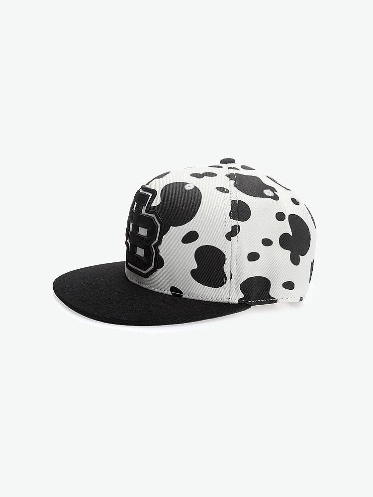 黑白帽子简约头像