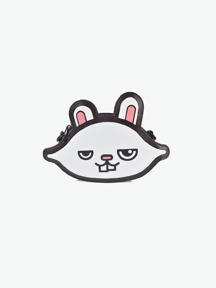 纯白可爱兔子头像