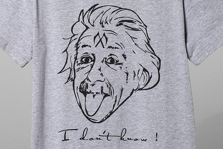 爱因斯坦t恤