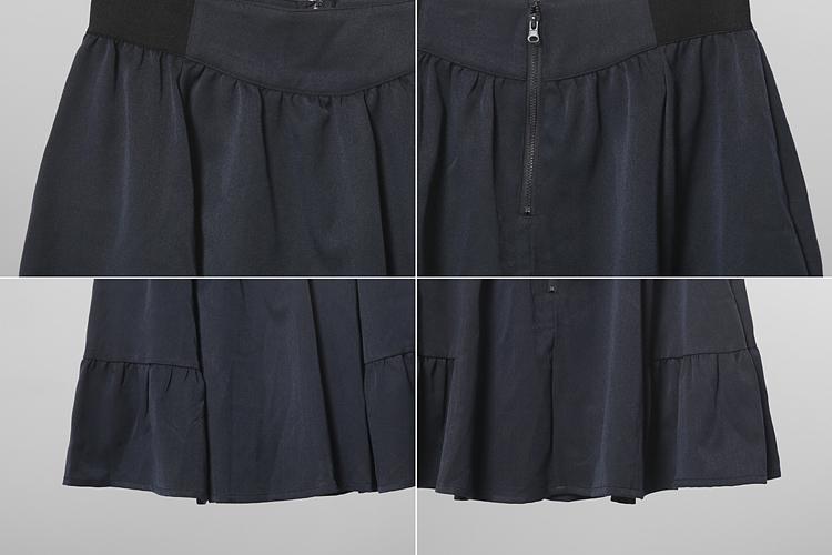 半身裙 supreme-lala 拉链宽腰半身裙正品  YOHO!BUY 有货   年轻人潮流购物中心,中国潮流购物风向标,官方授权正品保证