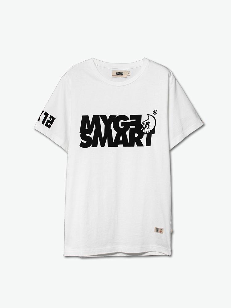 mygesmart logo印花短袖t恤图片