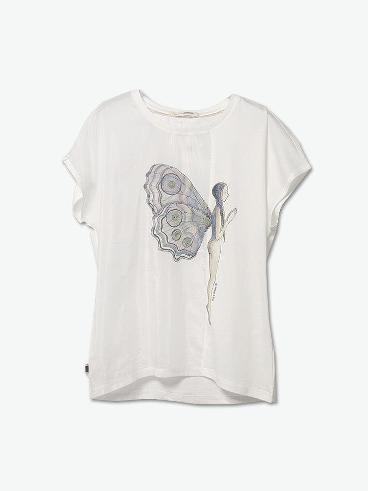 服装手绘图印花