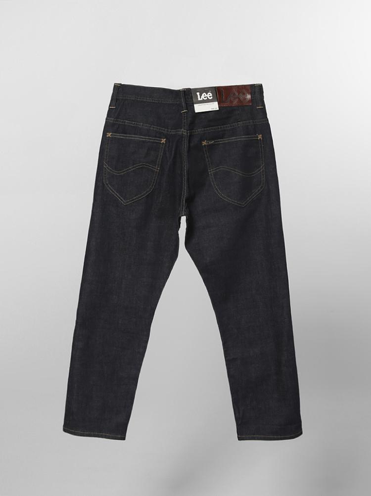 regional line l12658v18898 men cropped jeans denim-indigo  商品
