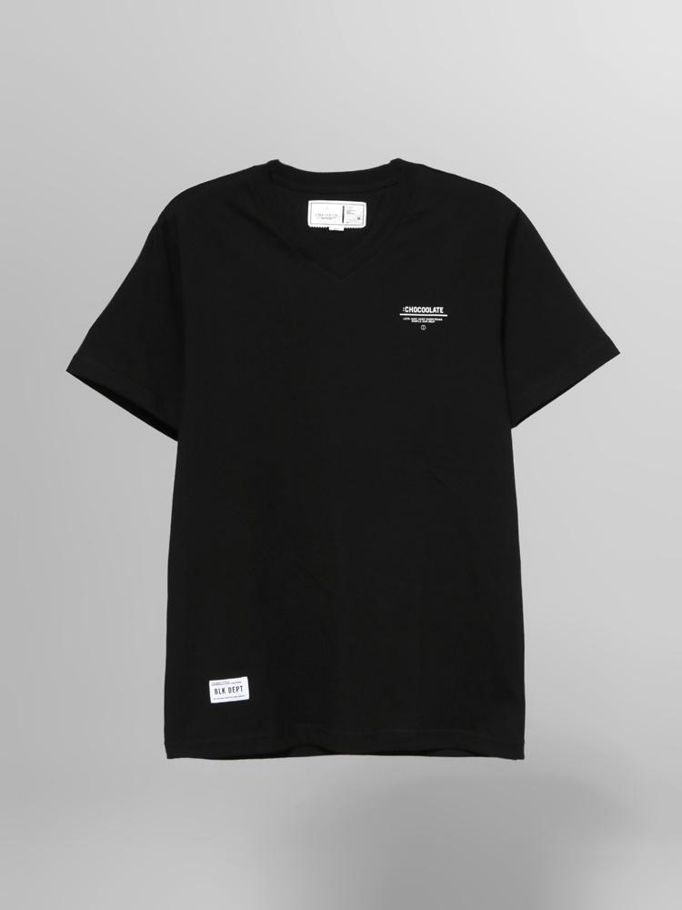 chocoolate 字母logo t恤