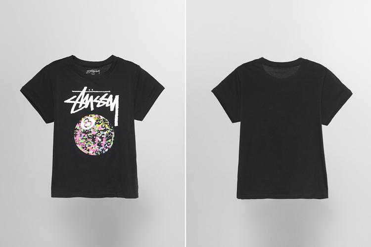 stussy t恤 stussy logo图案印花 t恤 正品  yoho!有图片